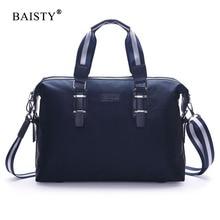 Baisty 2017 Роскошные Высокое качество Водонепроницаемый молния Оксфорд сумка случайные Crossbody сумка новый Дизайн Модные мужские дорожные сумки