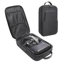 إيفا صندوق تخزين ل كويست Oculus الواقع الافتراضي VR نظارات و اكسسوارات للماء واقية حقيبة حمل الغلاف حالة