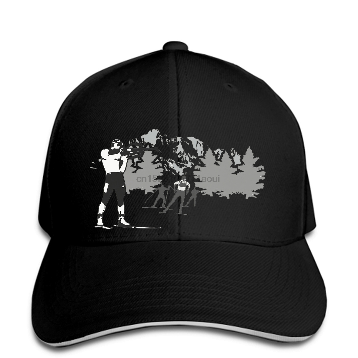 Baseball Cap Printed Men Print Hat Snapbacks Biathlon Women Baseball Caps