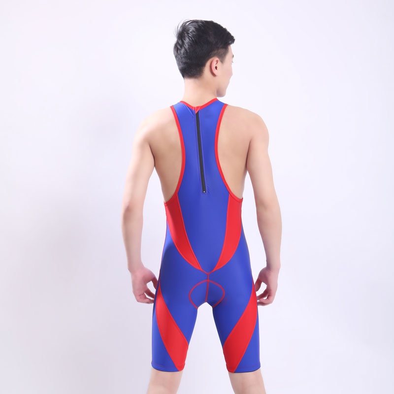 One Piece Professional Female Swimwear Sports Swimsuit Racing Competition Sexy Black Tight Bodysuit Bathing Suit