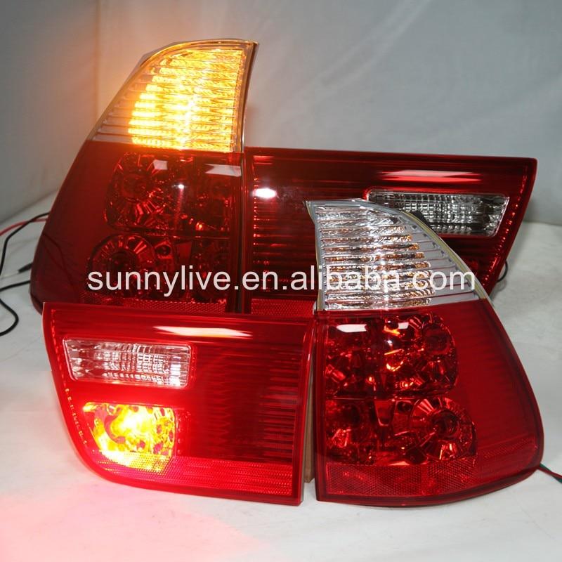 X5 E53 фонарь задний лампы для BMW красный, белый Цвет 2000 2006 год