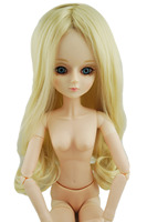 Козетта 1/3 BJD парик для кукол 22In. Шарнирная парик для кукол