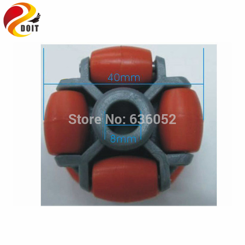 DOIT RC Car OW004 403002 Omni Omni-Directional Wheel Mechanical Robot Part Tire tyre Chassis wireless Remote Control