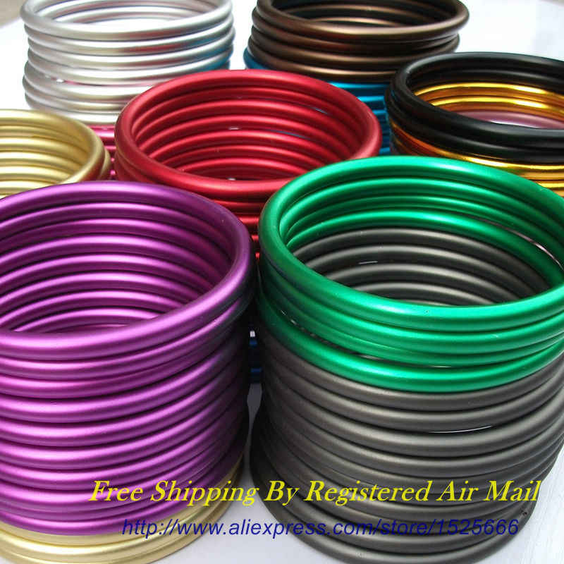 """Free Shipping 1 pair 3"""" Large Size Colored Aluminium Ring Sling Rings DIY Your Baby Wraps Slings"""