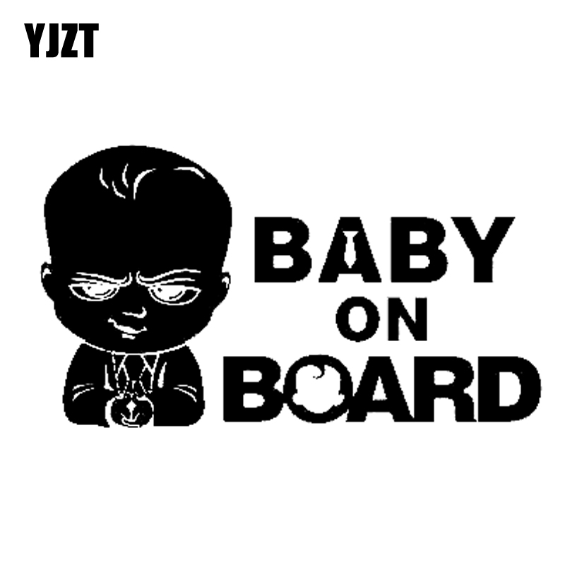 Baby on Board Babay Sign Cool baby Silver Car Decals Sticker Window Sticker
