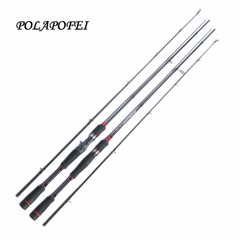 M carbon spinning fishing rod pod fishing carp for Fly fishing with spinning rod