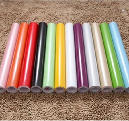 comprar x cm azul film papel tapiz decorativo decoracin del hogar pelcula para muebles de cocina pegatinas de pared de