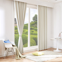 Curtains For Living Room 100%Blackout Cortina Modern Windows Pink White Curtains For Kids Room Home Decor Cortinas Para Salon