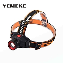 LED Headlamp CREE Q5 Headlight Rechargeable Zoom Head Light powerful Flashlight head torch led head lamp for fishing Hunting  zk20 q5 led headlamp headlight frontal flashlight head lamp torch head lamp outdoor sports camping fishing no battery