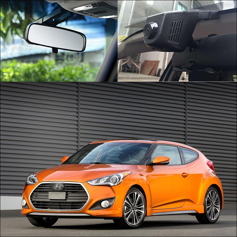 цена на BigBigRoad For Hyundai veloster Car Wifi DVR HD 1080P Video Recorder Hidden installation G-sensor Dash Cam Car Black Box
