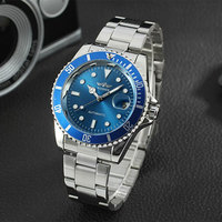 Winner Top Luxury Brand Watch Men Automatic Classic Dial Watches Mechanical Men Watches Fashion Business Clock
