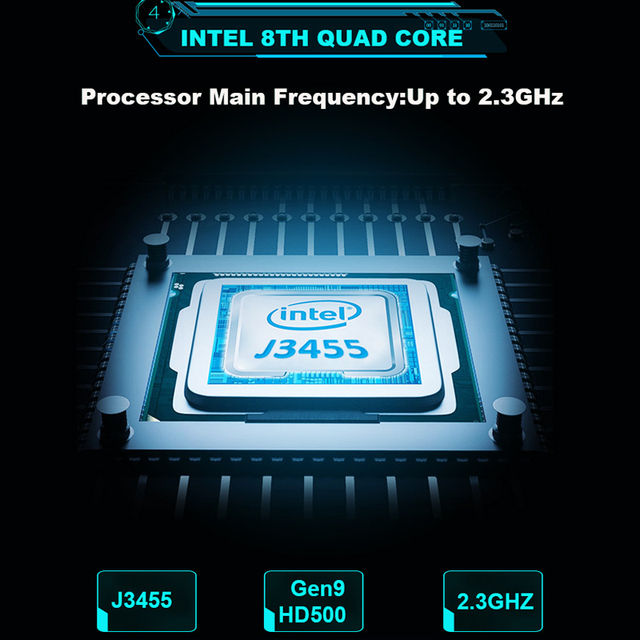 YEPO Laptop 15.6 inch 8GB RAM DDR4 128GB 256GB 512GB SSD 1TB HDD Ultrabook Gaming Laptops Intel J3455 Win10 Notebook Computer 4