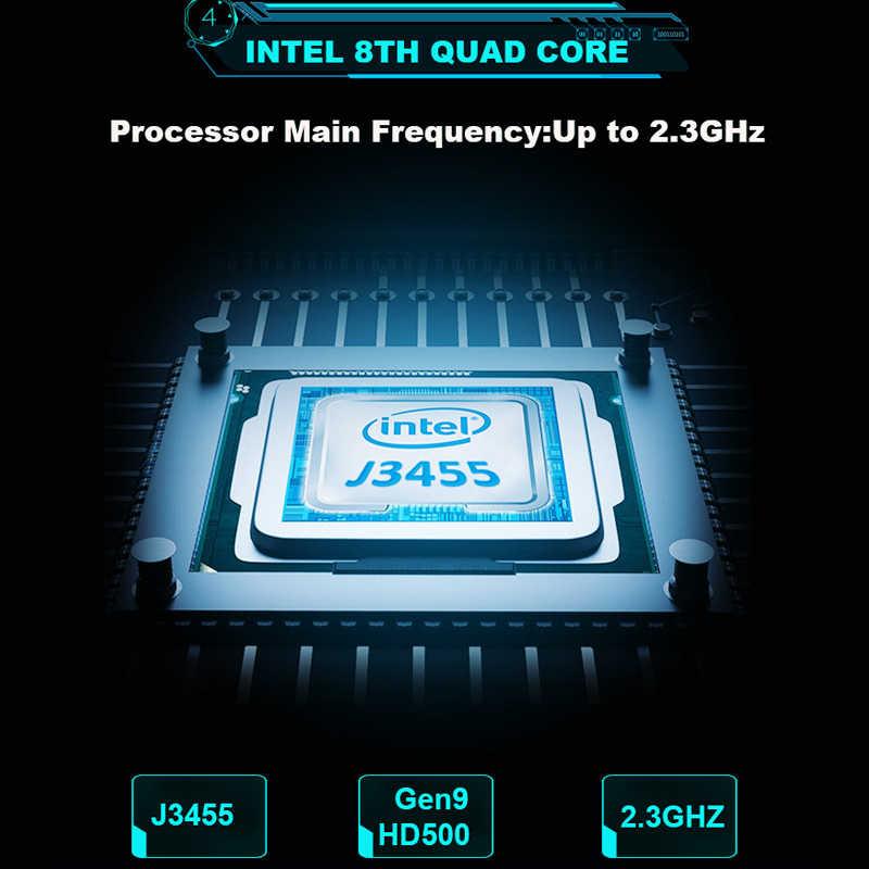 YEPO מחשב נייד 15.6 אינץ 8GB RAM DDR4 128GB 256GB 512GB SSD 1TB HDD Ultrabook משחקים מחשבים ניידים Intel J3455 Win10 מחברת מחשב
