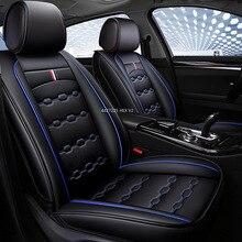 Fundas de cojines de cuero para asiento de coche, protección para Kia Rio 3 niro 2018 cerato stinger Soul sorento 2005 picanto k7, accesorios
