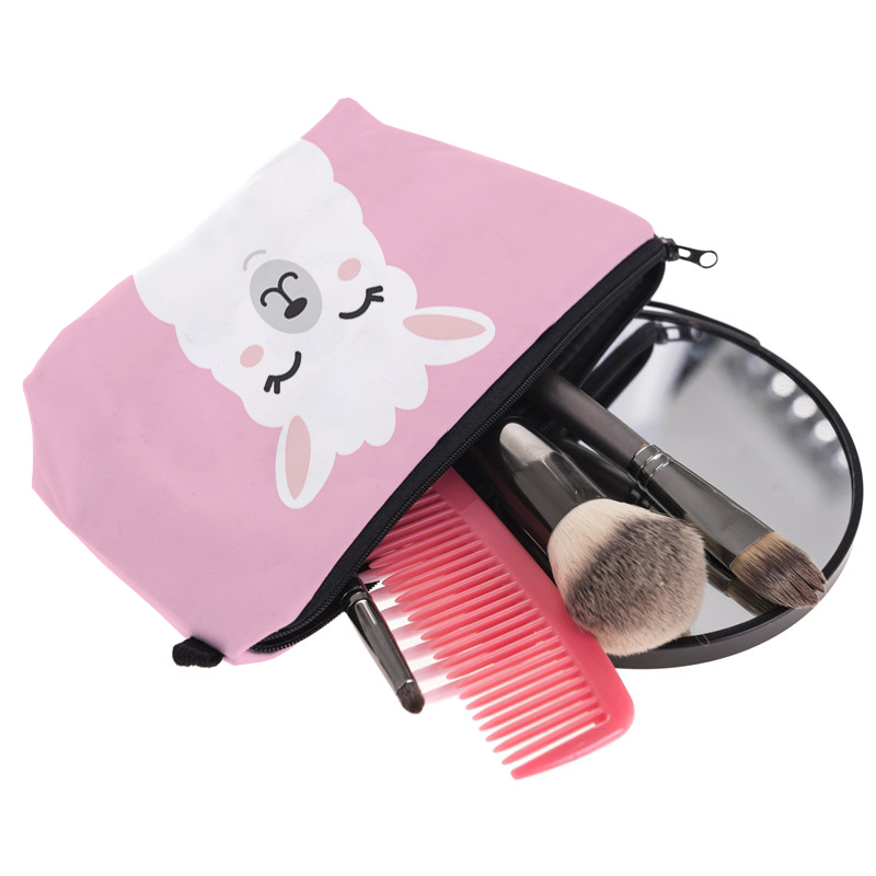 LLama Organizing Pouch- Makeup pouch for Women | Travel With Jaiden
