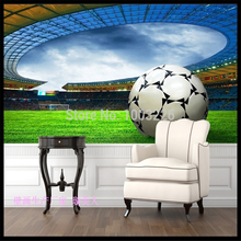 Beibehang Sports Football Field Background 3d Any Size Murals Papel De  Parede Photo Wallpaper Roll Butterflies Large Wall Murals Part 65