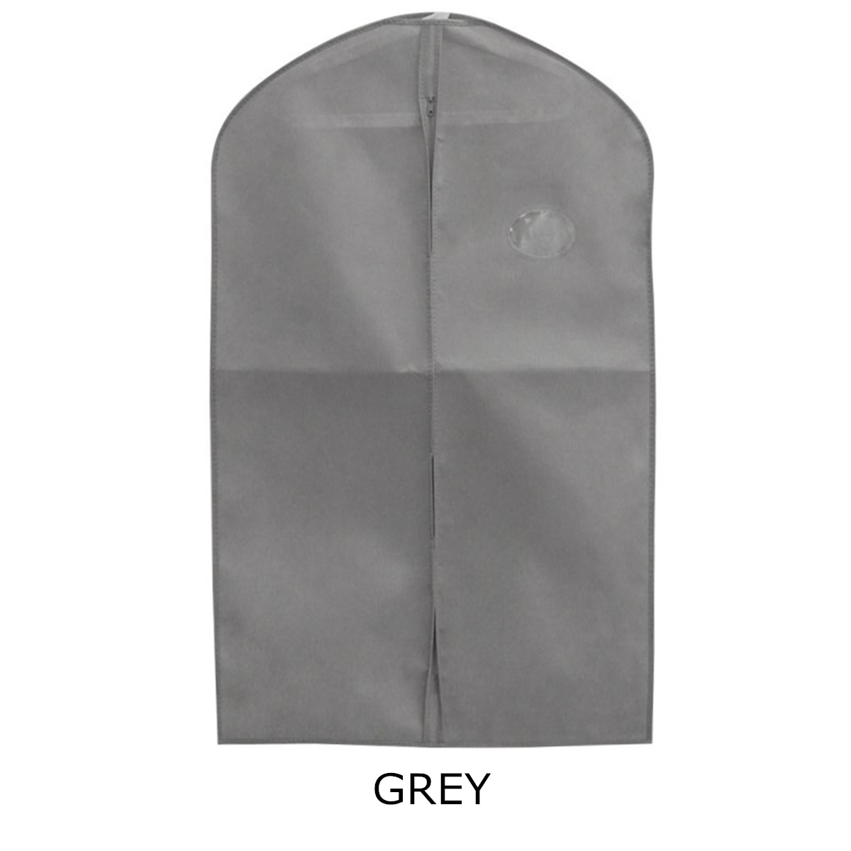 Non-Woven Breathable Garment Clothes Cover Dress Suit Coat Protector Storage Bag Travel Dustproof Bag Protective Cover Organizer garment bag