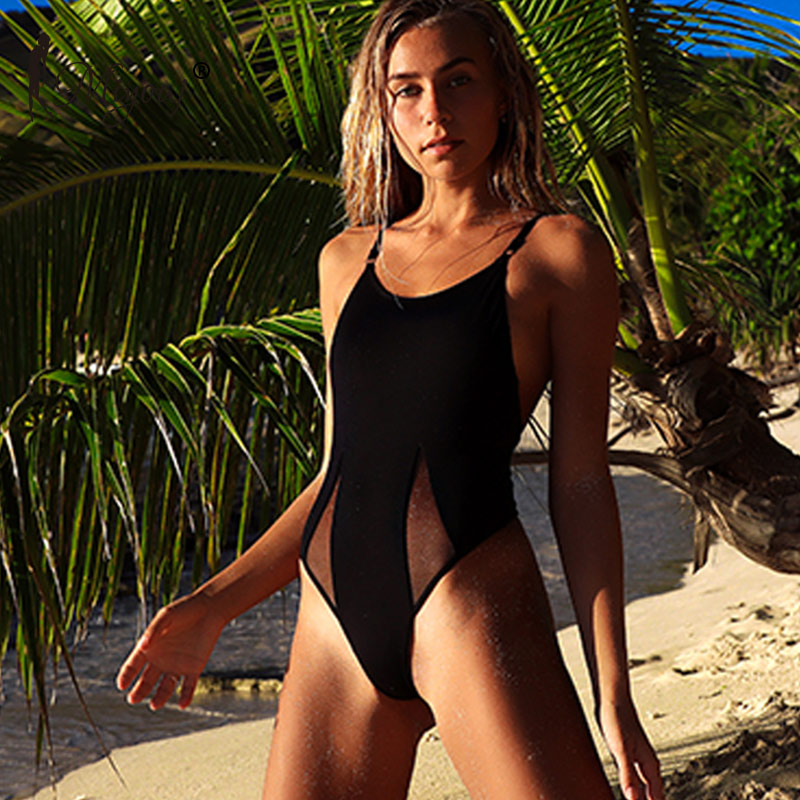 663578ad01 Miyouj Sexy One Piece Swimsuit Push Up Solid Swimwear Women 2019 Hollow Out  Black Bathing Suit Lace Brazilian Bikini Backless XL in Pakistan