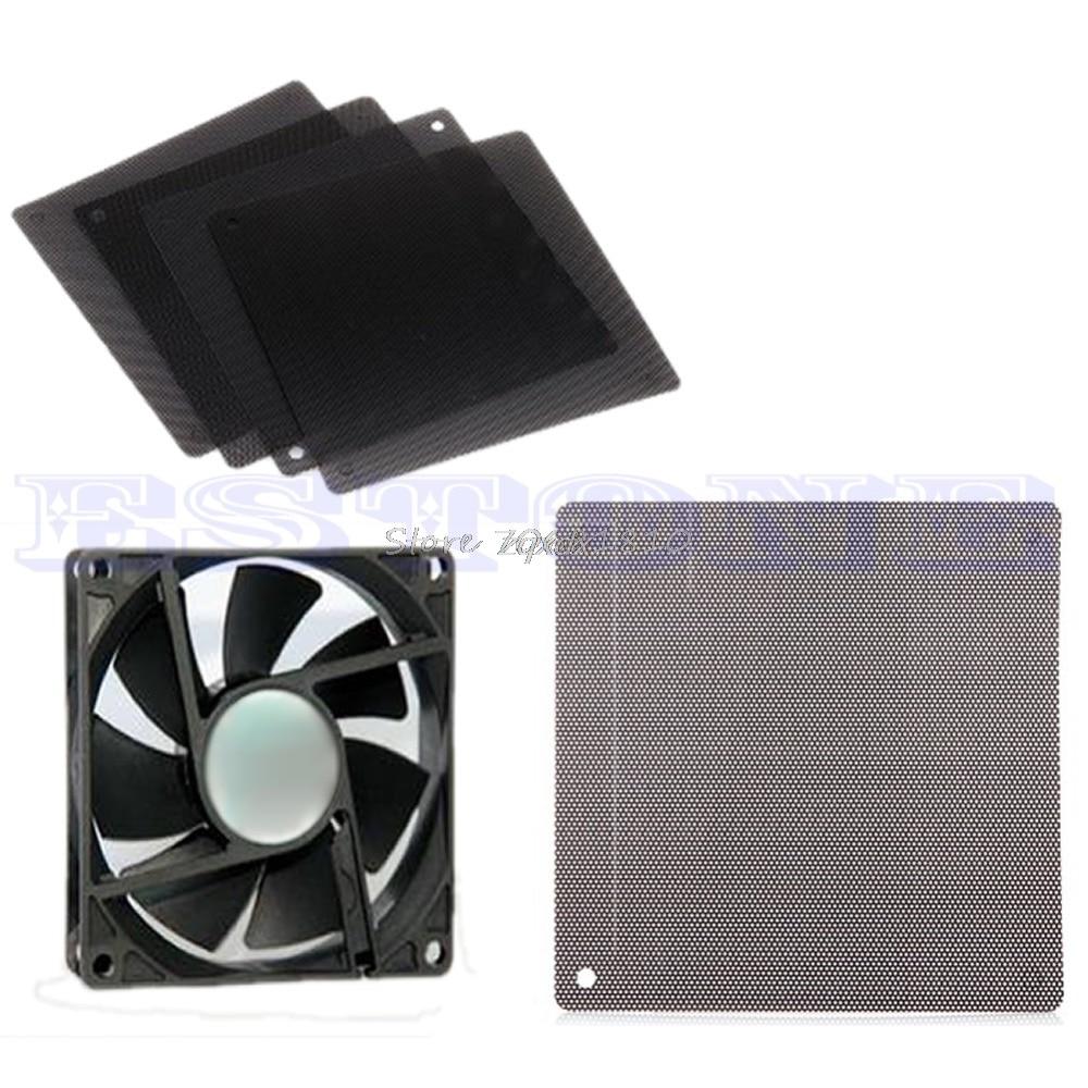 140MM Computer PC Cuttable Dust Dirt Filter Mesh Dustproof Cooler Fan Case  Cover Z09 Drop Ship
