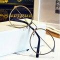 Новые декоративные дамы очки кадр мужчин и женщин super light ретро круглые очки леди рамки моды очки кадр