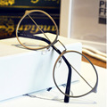 New decorative ladies glasses frame women and men super light retro round eyeglasses lady frame fashion eyewear frame