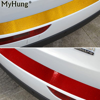 Car Styling DIY Rear Guard Bumper Protector Cover Warning Sticker For Jeep Compass Wrangler Cherokee Grand