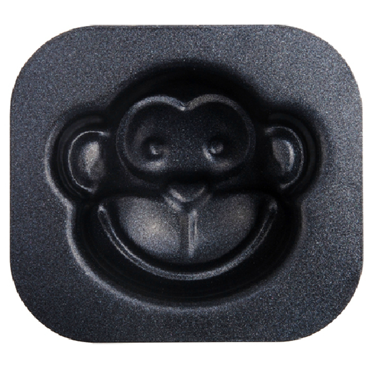 Aluminum Alloy DIY cake mold Monkey Head (non stick) mode/Shell/Pig Head cake baking mould DIY biscuit mold