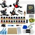 ITATOO Canetas Tatuagem Kit Máquina de Tatuagem Barato Conjunto Kit de Tatuagem Máquina de Tinta Suprimentos Arma Para Arma de Jóias Profissional TK1000007