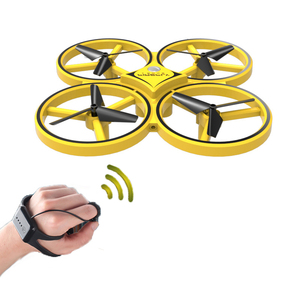 Image 2 - DWI Obstacle Avoidance Aircraft Mini Drone Professional 360 Flip Interactive Induction Quadcopter Watch Control UAV Drone