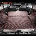 Автомобильный задний багажник коврик Защитная Подушка прочный Чехол грузовой лайнер автомобильный Стайлинг для Kia Sportage QL 2015-2019