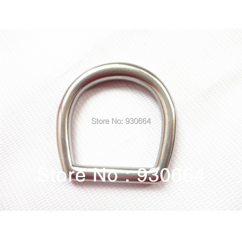 50PCS/Lot Stainless Steel  Buckle Wholesale Price Inside Width 37mm W010