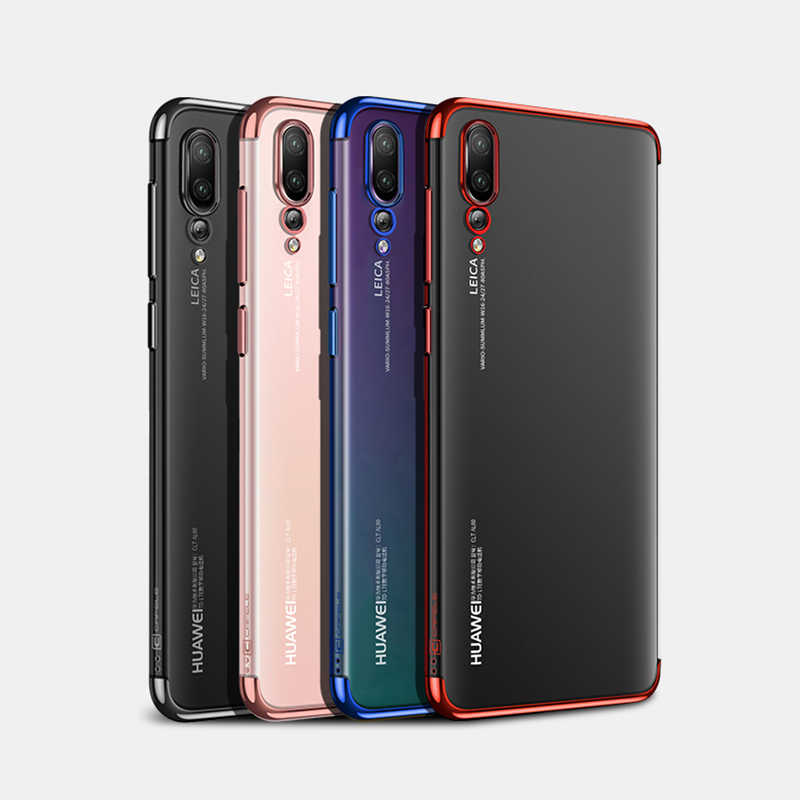 TPU Protective case For Huawei nova 2 2i 2S lite 3I 3E  soft shell on huawei P20 Pro P10 lite cell phone case Safety cover
