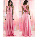 Infinity Dress Multiway Summer Sexy Maxi Women Beach Long Convertible bridesmaid Bandage dresses dance Wrap red infinity