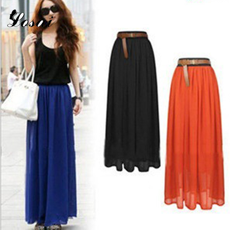 Long Colourful Skirts Promotion-Shop for Promotional Long ...