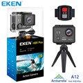 Ursprüngliche EKEN H9 H9R Plus wifi Action Kamera Ambarella A12 Ultra HD Echt 4 Karat 30fps 14MP Foto für Panasonic wasserdicht sport Cam