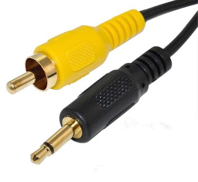 6Ft DC 3,5mm Mono Stecker auf Cinch stecker Jack Audio Kabel ...