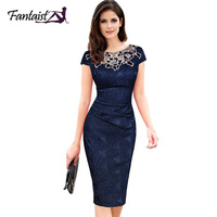 Fantaist Ladies Clothing Sundress Sheath Vestidos Slim Tunic Casual Party Evening Special Occasion Brief Bridesmaid Pencil