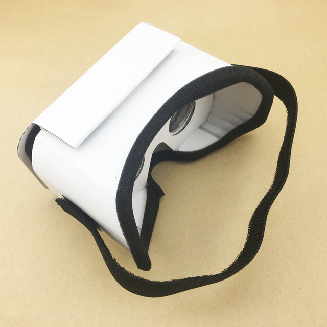 DIY Portable Virtual Reality Cardboard 3D Glasses