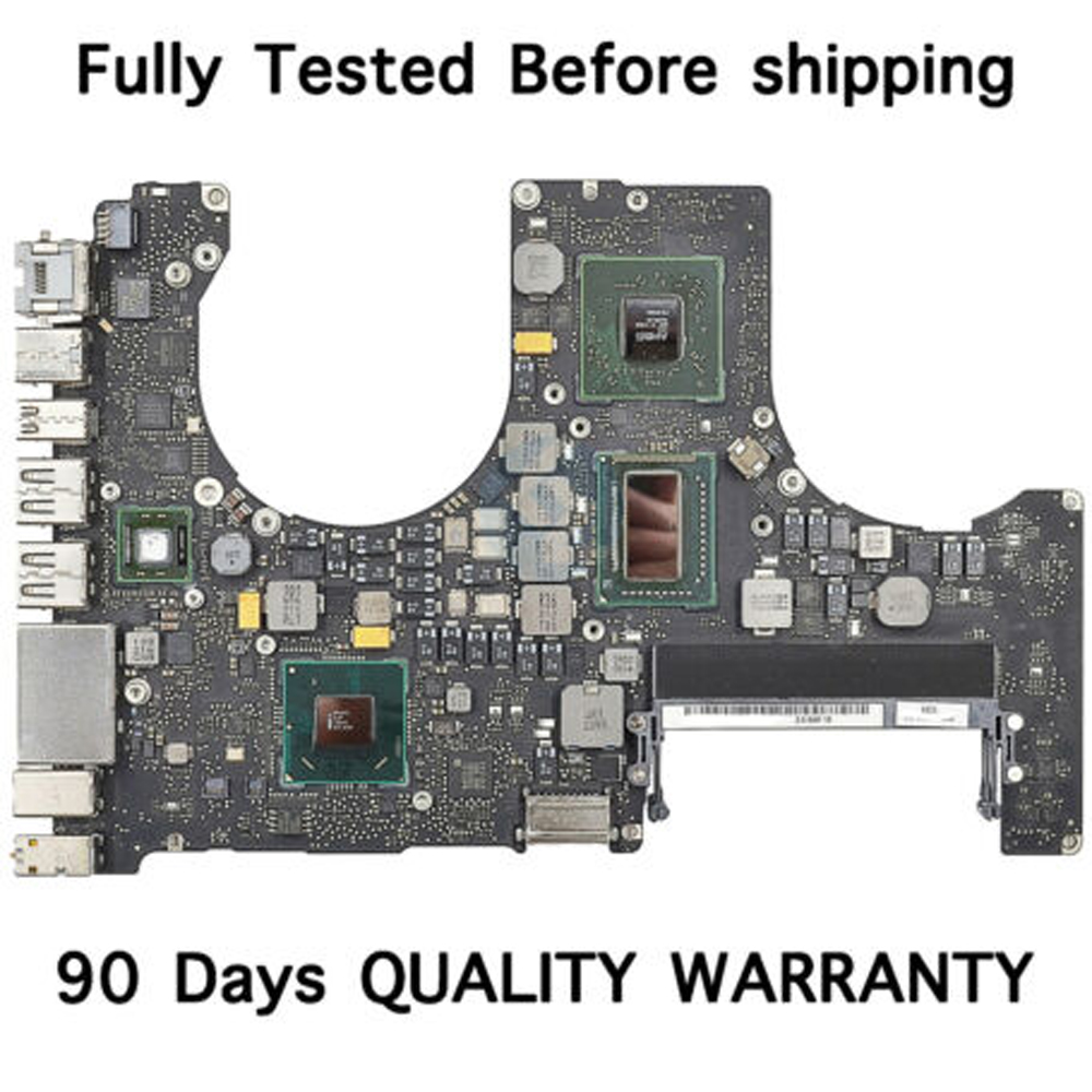 """Used Original For Macbook Pro 15"""" A1286 Motherboard Logic Board 2011 year 2.3ghz 2.4ghz 2.5ghz Without heat sink