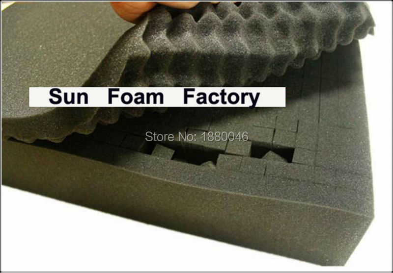 50 40 5cm pick and pluck foam use for camera box Anti collision box shock frame box luggage precision instrument box sponge in Wall Stickers from Home Garden
