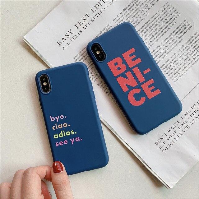 Be Nice Soft TPU Case