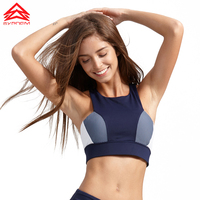Syprem sports bra women Stitching yoga Fitness bra Sexy Sports Top Running Brassiere Gym Top tank For Fitness brand bra,1FT0034