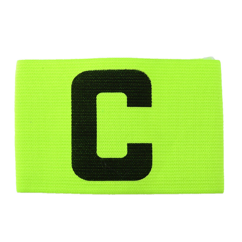 Fluorescent Captain Armband Colorful Football Soccer Flexible Sports Adjustable Player Bands