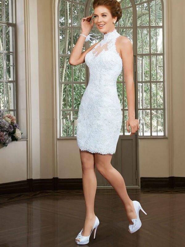 Online Buy Wholesale short mini wedding dress from China short ...