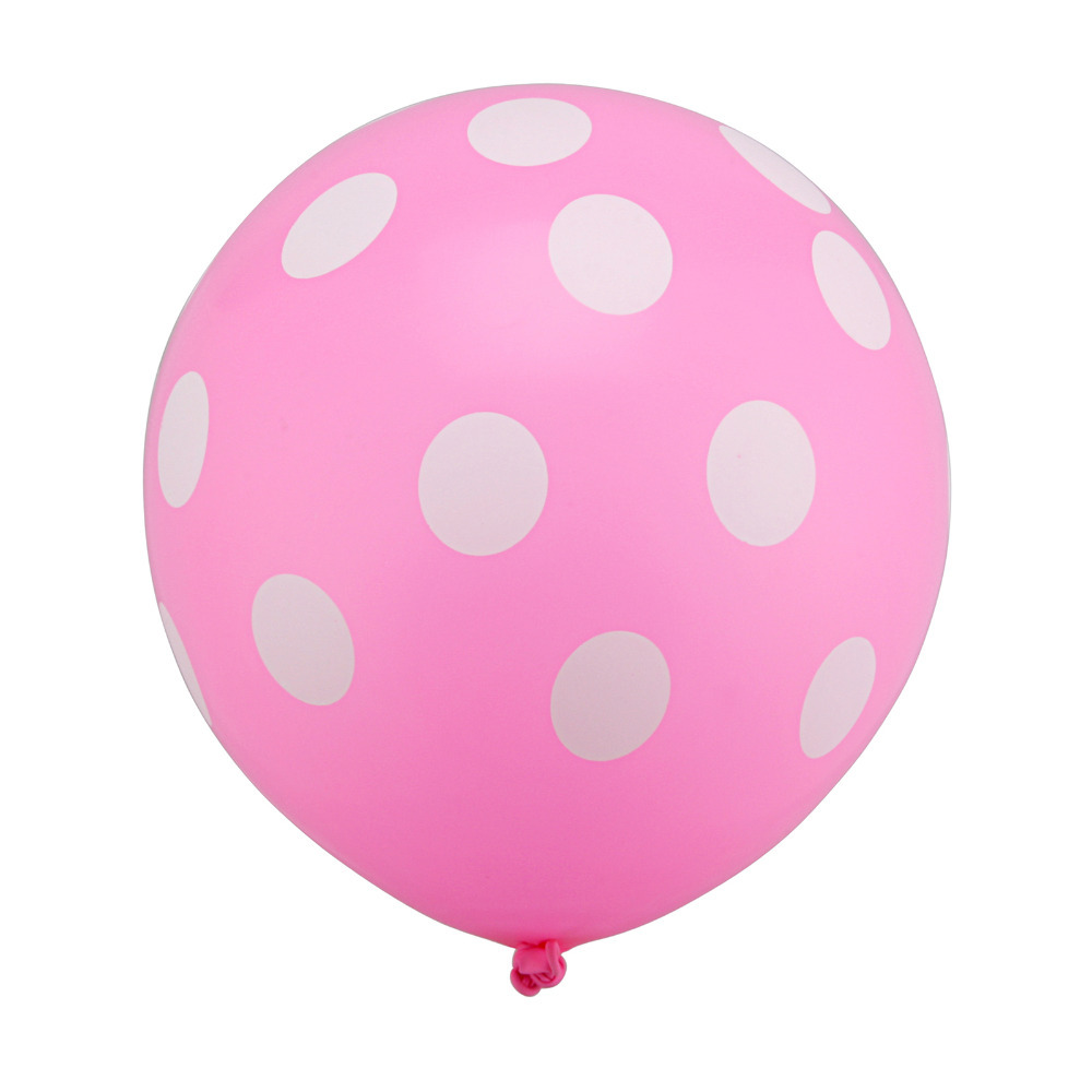 100pc 12 inch Latex Polka Dots Balloons Wedding Birthday Balloons Decoration Globos Party Ballon palloncini anniversaire Kid Toy
