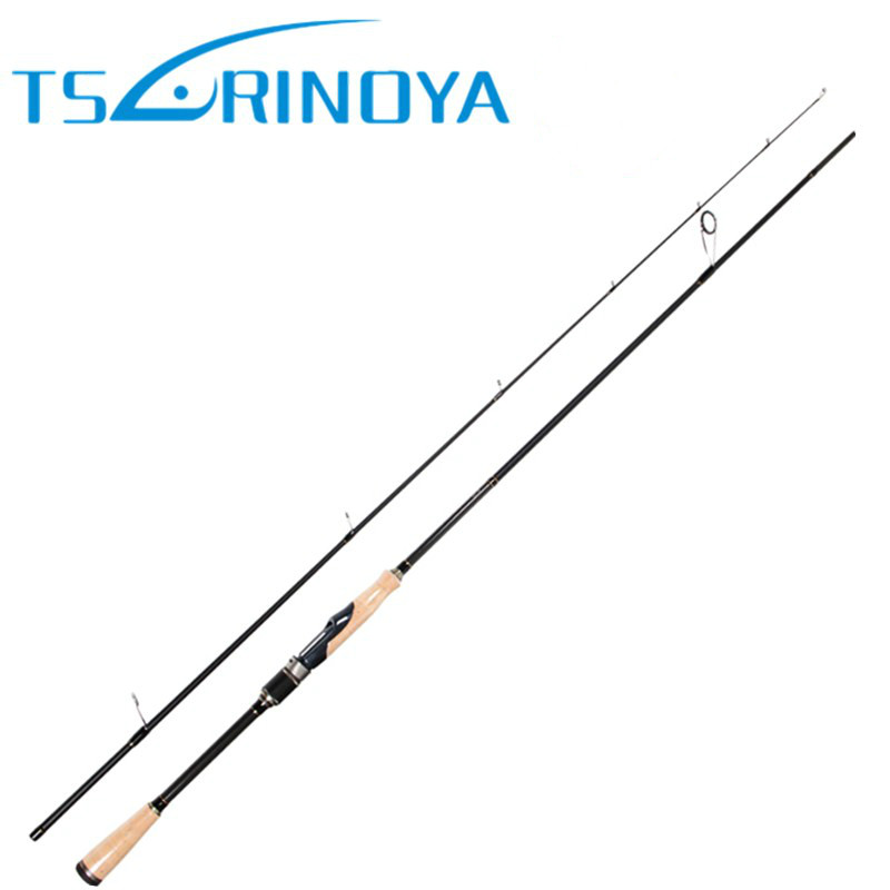 TSURINOYA PROFLEX II Spinning Fishing Rod 2.01m 2.13m 2 Section Spinning Rod ML/M Power Canne A Peche Carbon Fishing Pole tsurinoya 2 01m 2 13m proflex ii spinning fishing rod 2 section ml m power lure rod vara de pesca saltwater fishing tackle