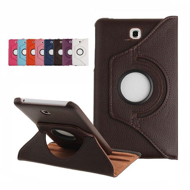 "For Samsung Galaxy Tab 4 7.0 inch T230 T231 T235 SM-T231 SM-T230 SM-T235 Tab4 7"" Tablet Case Bracket Flip Leather Cover"
