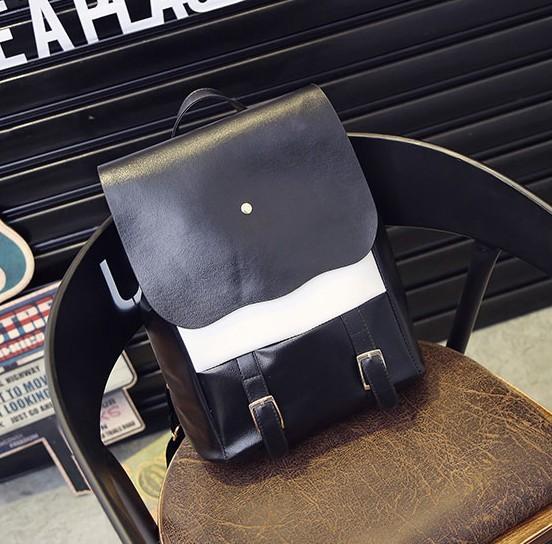 2016 nova chegada sem zíper de poliéster de venda de moda senhoras saco de moda mochila de viagem Bag0.45