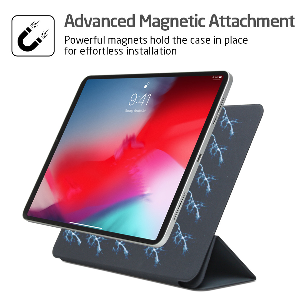 Magnetic Smart Folio for Face ID 12.9 inch iPad Pro 2018 , Trifold Stand Magnet Case Cover for iPad Pro12.9Magnetic Smart Folio for Face ID 12.9 inch iPad Pro 2018 , Trifold Stand Magnet Case Cover for iPad Pro12.9