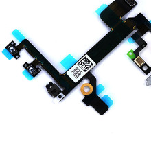 EDAL New Power Switch On/ OFF Flex Cable Replacement For iPhone 5S